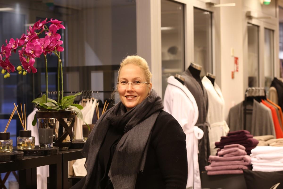 Yritttäjä Heidi Jaaran mielestä design-kouluihin tarvittaisiin enemmän kaupallista koulutusta Kuva: Päivi Lehto-Trapnowski