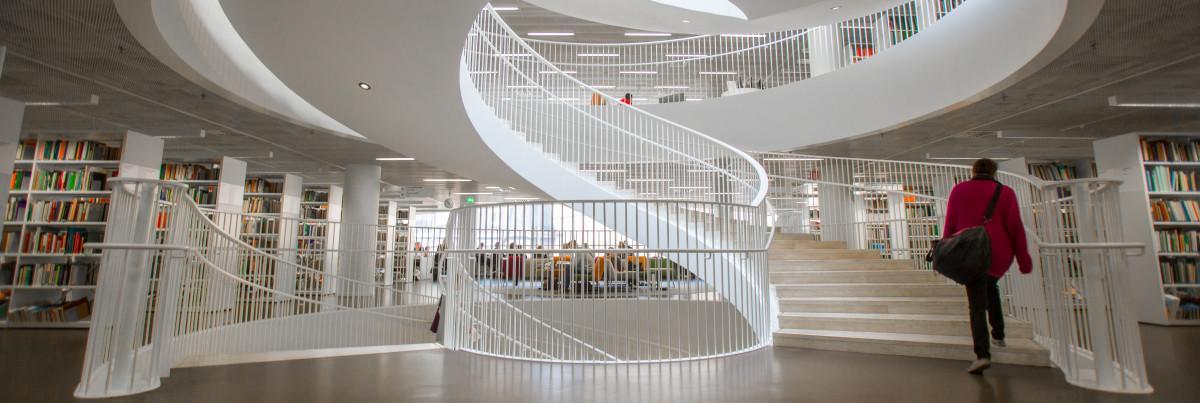 Kaisa-kirjasto. Kuva: Joel Karppanen.