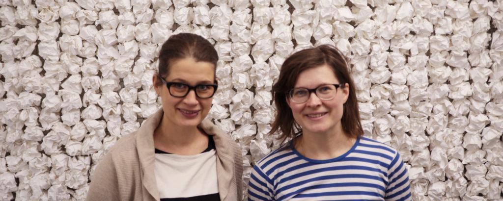 Skidiakatemian muotoilukasvatuksen kerhoa vetivät keväällä 2016 Silvia di Orio ja Laura Euro. Kuva: Päivi Lehto-Trapnovski