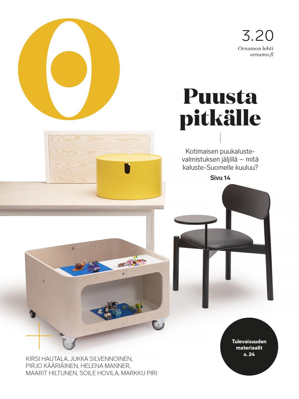 Ornamon lehden kansi 3/2020