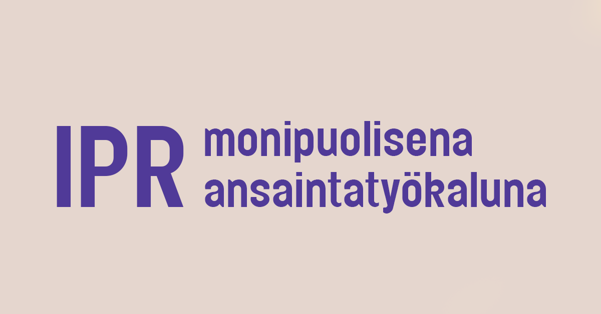 IPR-tapahtuman banneri