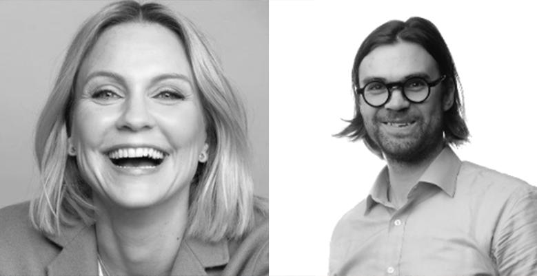 Krista Kinnunen ja Hannes Kankaanpää