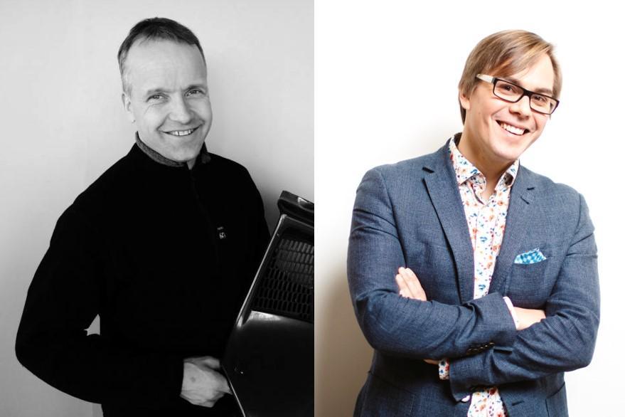 Harri Alanen ja Mikko Dufva. Kuva: