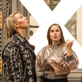 Young Finnish Design®:n perustajat Heidi Maria Huovinen ja Elisa Luoto